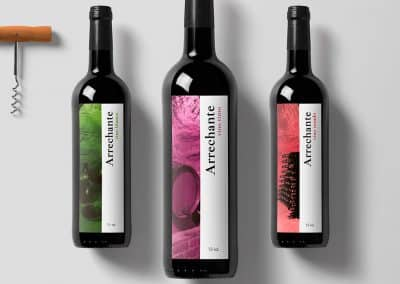 Packaging vino Arrechante