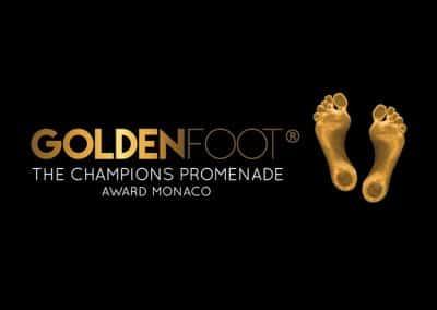Riprogettazione del marchio GoldenFoot
