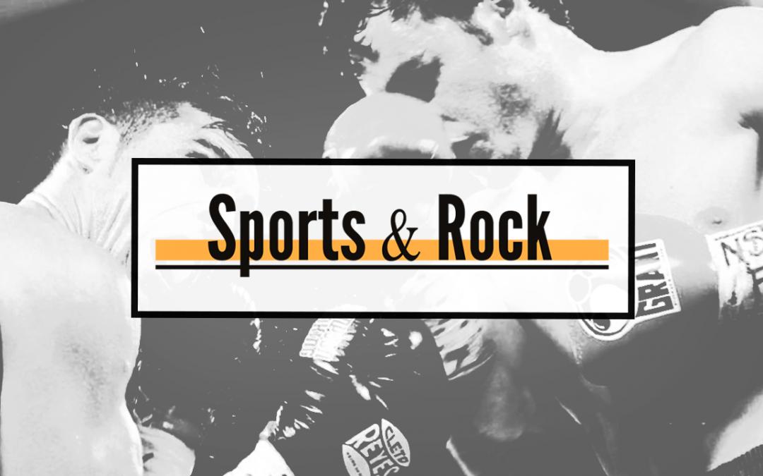 Diseño periódico Sports&Rock