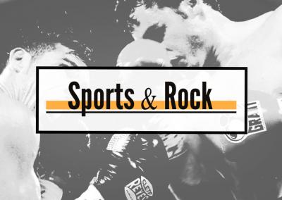 Design del giornale Sports&Rock