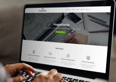 Riprogettazione Web Murillo Ingenieros, S.L.