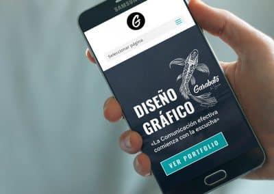 """Portfolio Web Studio Grafico """"Garabato del Lebeche"""""""