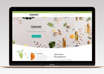 E-commerce Natuker Cosmetics